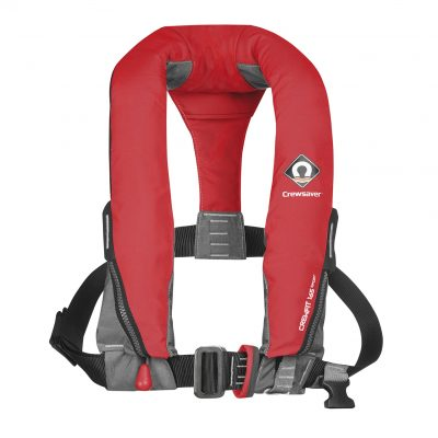 Manual Inflatable Fiery Red Lifejacket