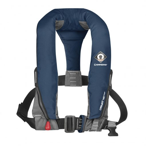 Manual Inflatable Navy Blue Lifejacket
