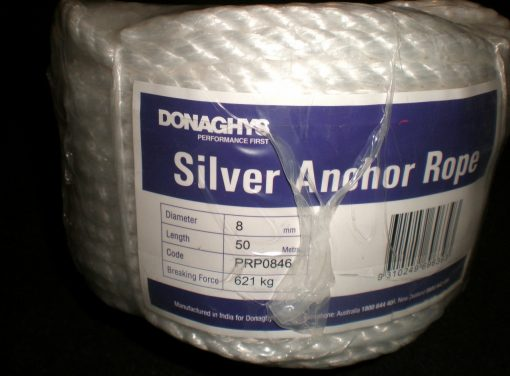 Silver RopeAnchor Pack 8mm X 50Mtr