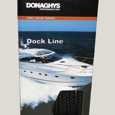 Dock Line Black Nylon 12mm X 4.6Mtr