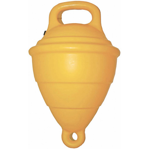 "Buoy 10"" Hollow Yellow"
